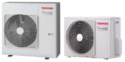 Toshiba Multisplit luftvärmepump